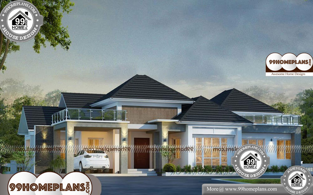 Front Elevation Designs For Ground Floor House - Single Story 3131 sqft-Home