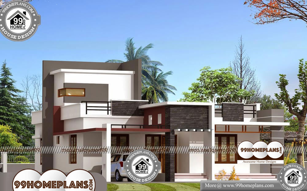 Ground Floor Elevation With Portico : Ground floor house elevation designs in indian