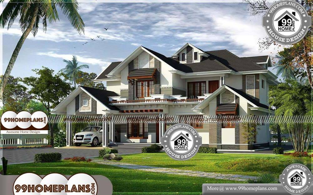 Home Plans India - 2 Story 2756 sqft-Home