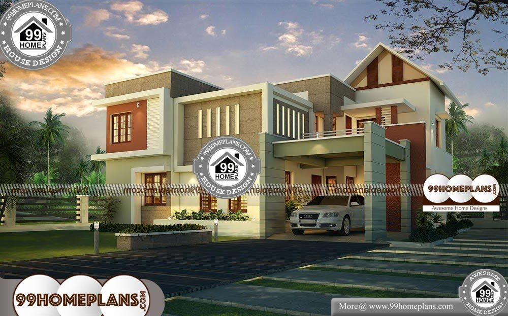House Design Front View - 2 Story 2975 sqft-Home