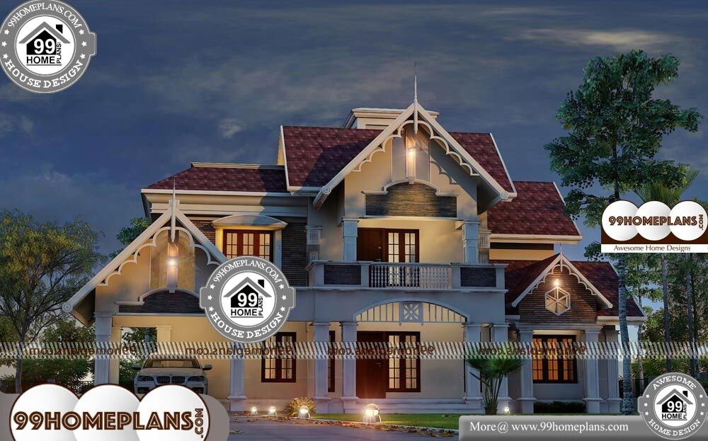 House Design Styles - 2 Story 2980 sqft-Home