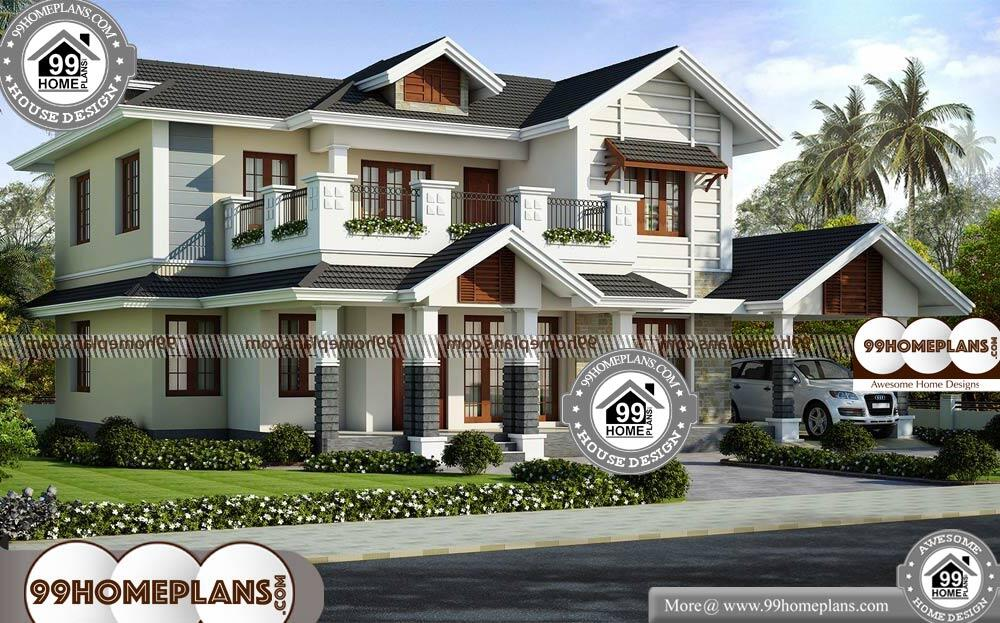 House Plans With Cost To Build - 2 Story 2446 sqft-Home
