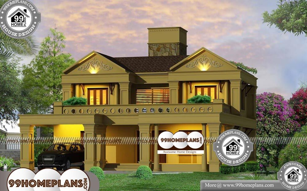 Indian Bungalow House Designs - 2 Story 2369 sqft-Home