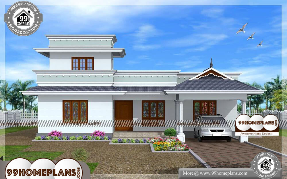 Indian Home Design Single Floor - Single Story 950 sqft-Home