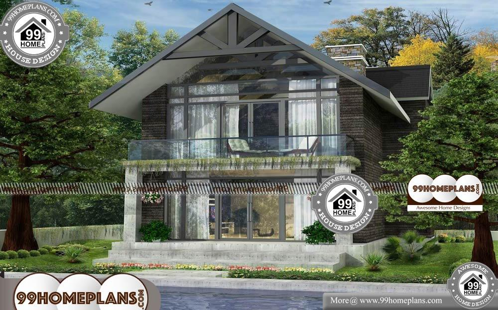 Kerala Style House Plan With Cost - 2 Story 976 sqft-Home