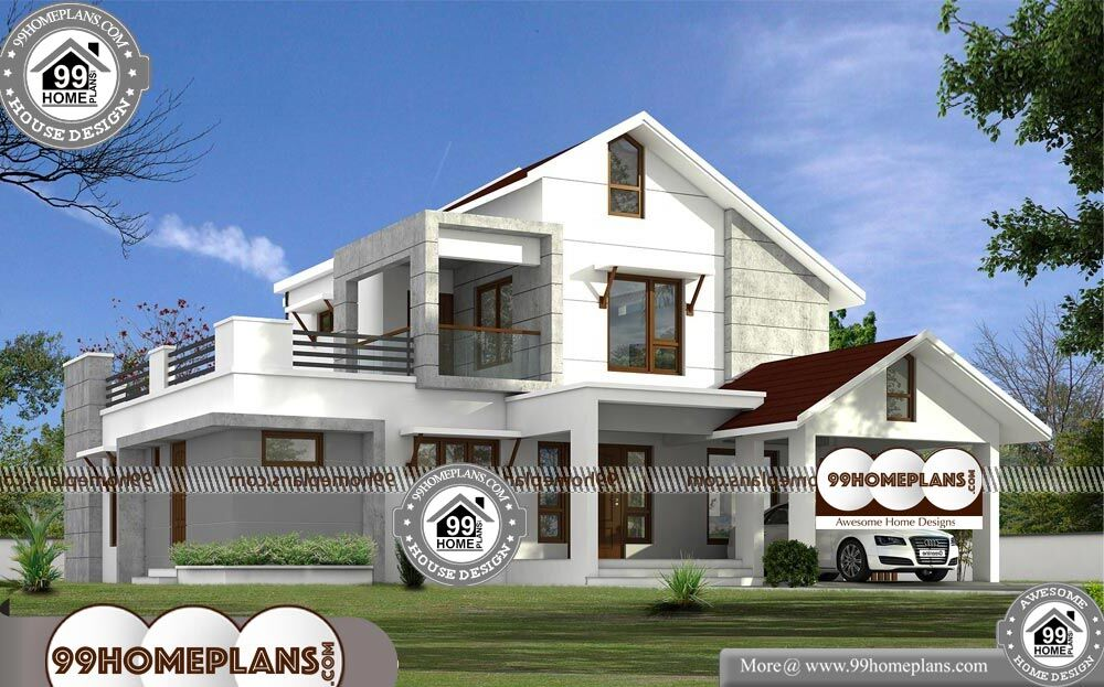 Low Cost 2 Storey House Design - 2 Story 2336 sqft-Home