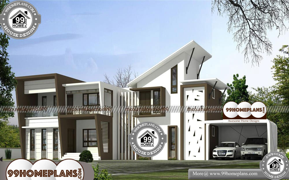 Modern Double Story House Designs - 2 Story 4166 sqft-Home