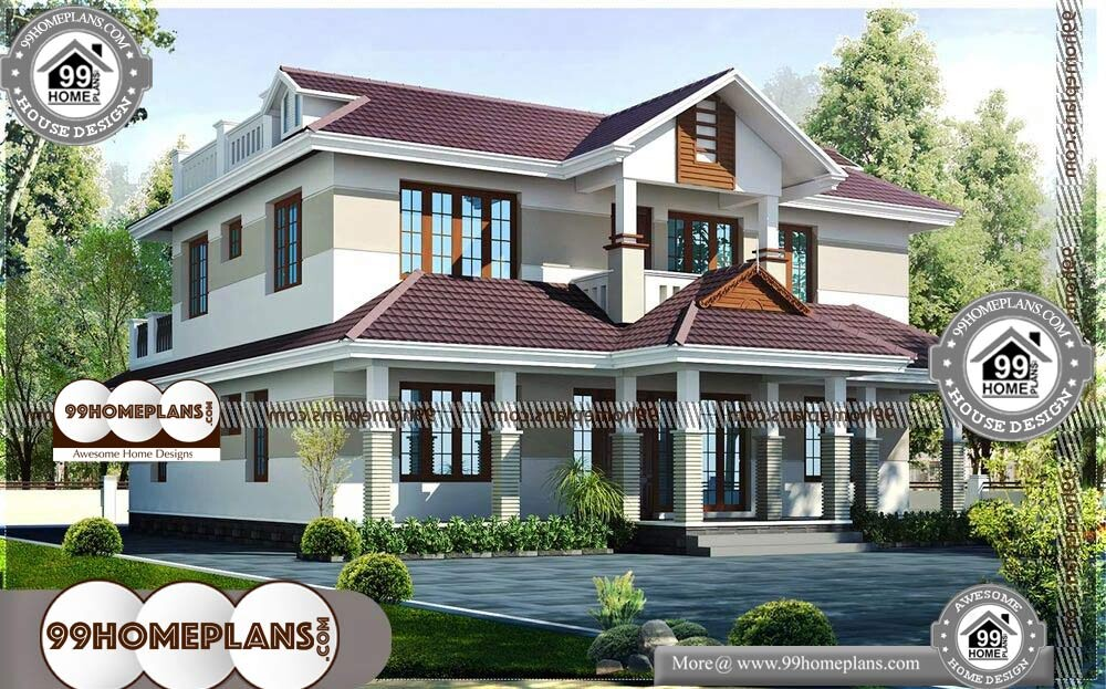 Modern House Layout Plan - 2 Story 2460 sqft-Home