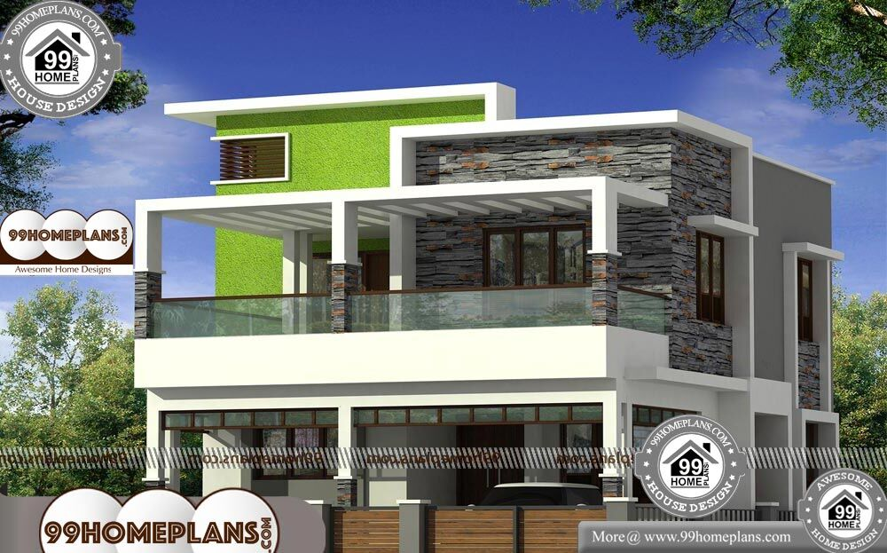 Narrow Modular Homes - 2 Story 1540 sqft-Home