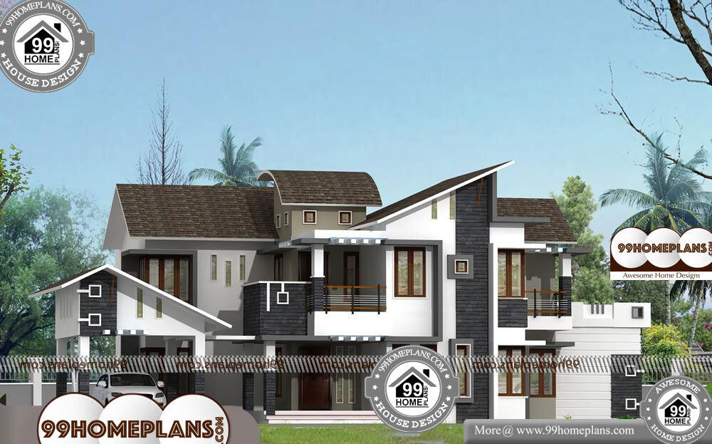 New House Plans - 2 Story 4200 sqft-Home