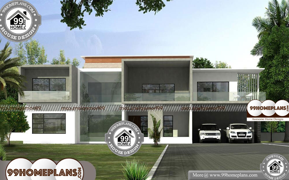 New Modern House - 2 Story 4775 sqft-Home