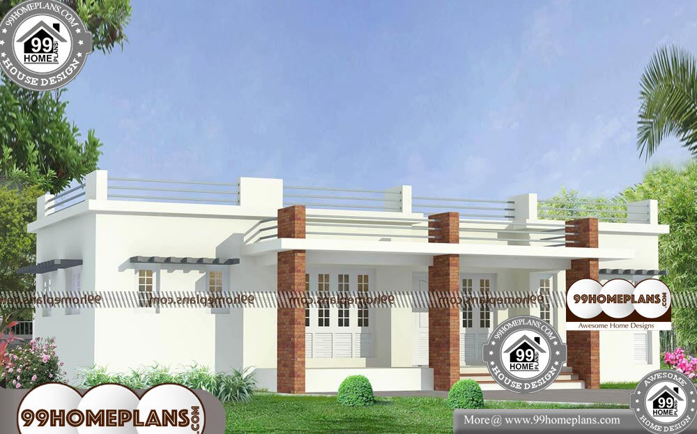 Old Fashioned House Plans - Single Story 1476 sqft-Home