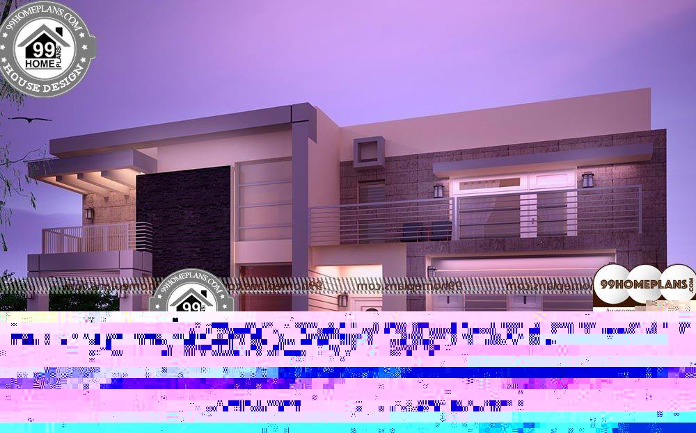 Rectangular Bungalow Floor Plans - 2 Story 4222 sqft-Home