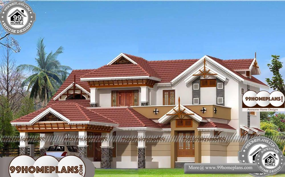 Simple House Plans - 2 Story 2745 sqft-Home
