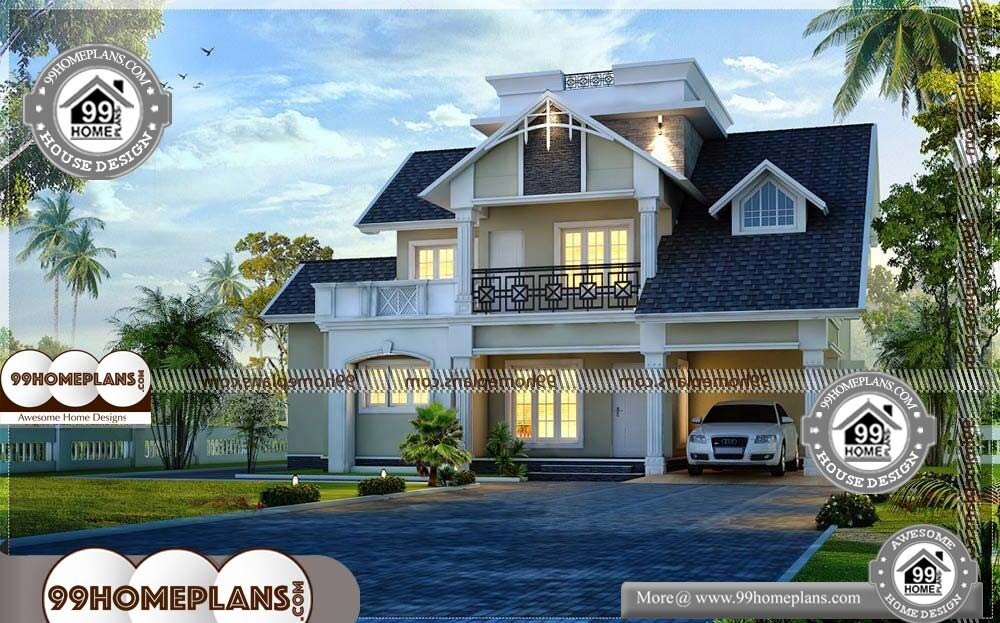 Small 2 Story House Plans - 2 Story 2184 sqft-Home