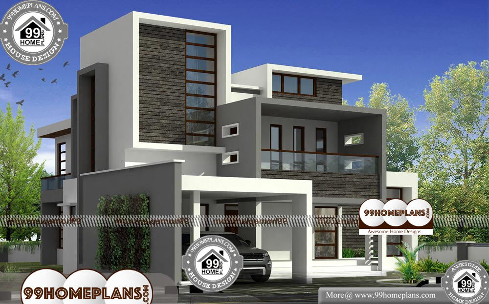 Small Modern Bungalow House - 2 Story 3001 sqft-Home