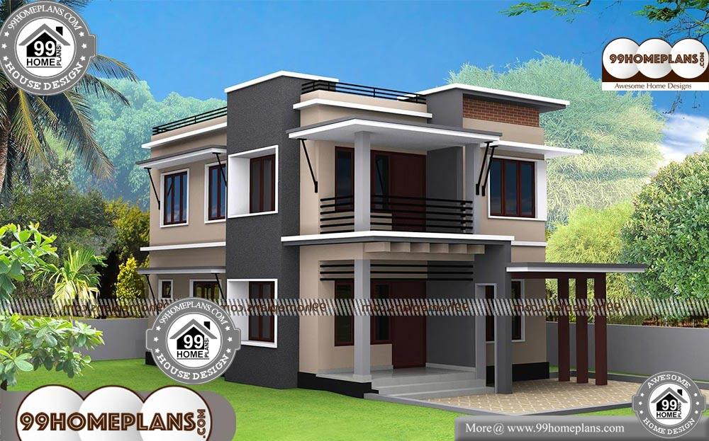 Small Modern House Designs   2 Story 1620 Sqft Home