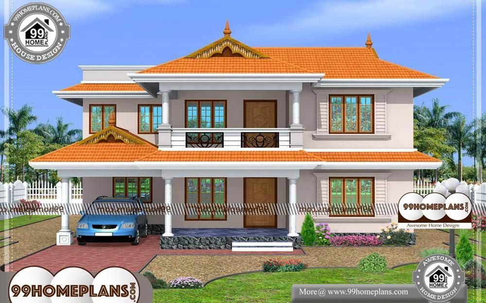 South Indian House Design With Kerala
