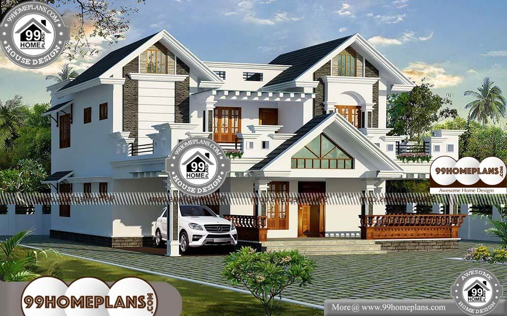 Traditional Home Bedrooms - 2 Story 2370 sqft-Home