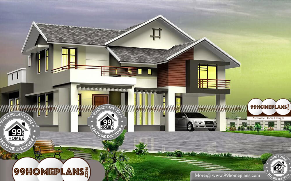 Two Story 4 Bedroom House Plans   2 Story 2650 Sqft Home