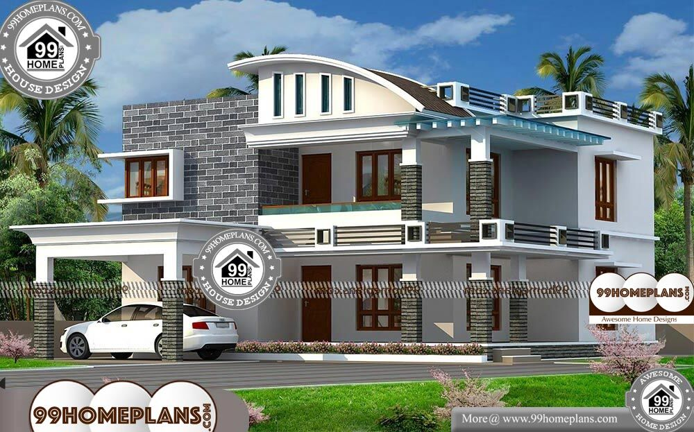 Veedu Photos In Kerala - 2 Story 2322 sqft-Home