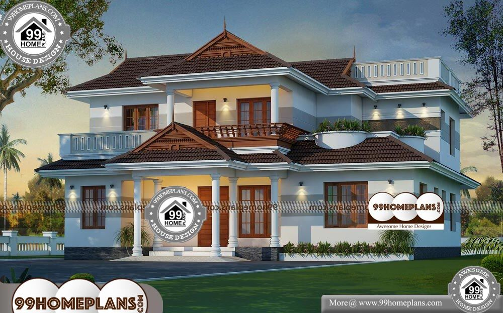 West Facing House Plans - 2 Story 2550 sqft-Home