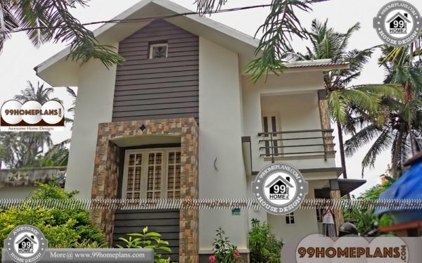 Affordable Two Storey House Plans | Small Bungalow Home Collections