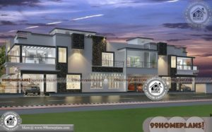 Apartment House Plans with Double Story Ultra Modern Home Collections