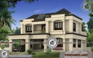 Arabic Style House Plans | 4 Bedroom Contemporary Bungalow Collection