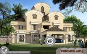 Arabic Villa Design Collections | Best 3D Elevation Pictures & Photos Free