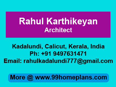 Architect Rahul Karthikeyan in Kadalundi
