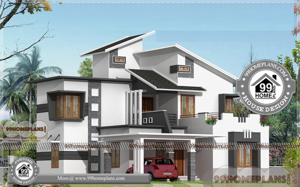 Architects In Bangalore Double Story Modern House Plans 100+ Designs