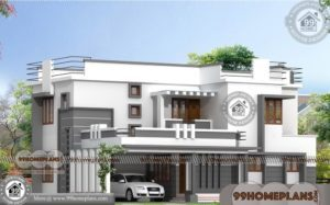 Architecture Design House | Double Story Ultra Modern Home Plan Photos