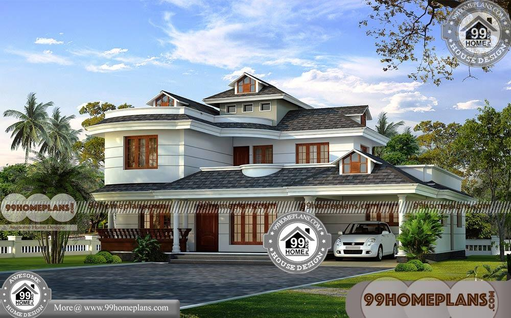 Beautiful Two Story House Plans
