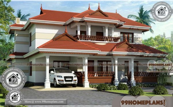 Beautiful House Plans With Photos In Kerala | Traditional Homes Collection