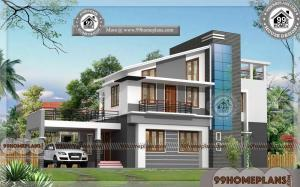 Best Houses In India | Very Stylish Contemporary Home Design Floor Plan