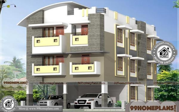 Building Plans | Best Three Story Homes | 700+ Modern House Designs