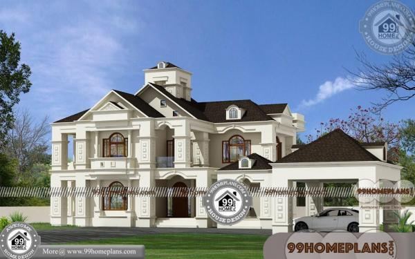 Bungalow home plans and designs two floor ultra modern collections - Two floor house plans collection ...