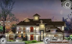 Bungalow Ideas of Arabian Style Indian Model Home Designs | 900+ Plans