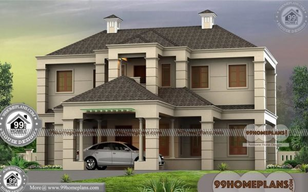 Bungalow Modern House Design Double Story Pretty Grand Collections
