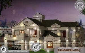 Bungalow Style House Plans with 3D Elevations | Low Cost Awesome Plan