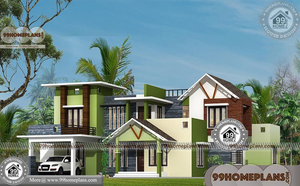 Cheap 4 bedroom house plans with double story contemporary for Affordable 4 bedroom house plans