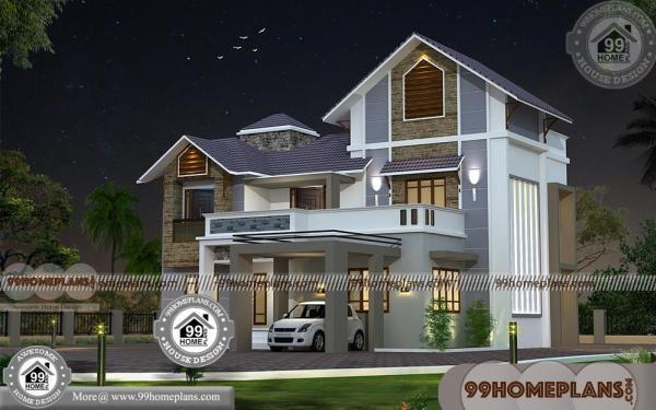 Cheap Two Story Homes with 3D Elevations | Low Cost Mind Blowing Plan