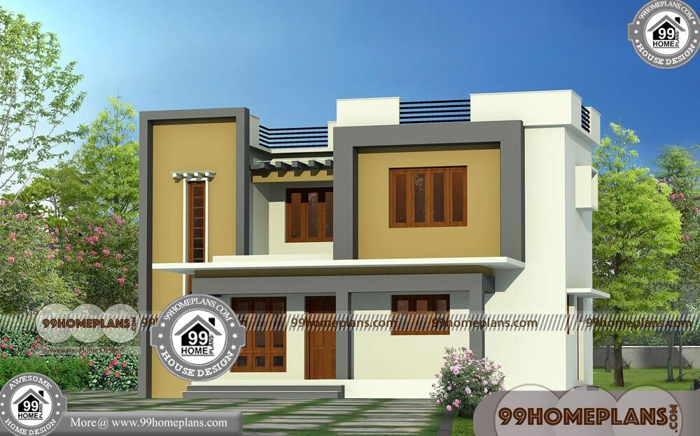 City house plans with 2 story box type modular home plan for 2 story box house plans