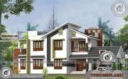 Contemporary Bungalow Designs with Two Story Fusion Style Collections