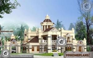 Contemporary Bungalow Plans with Huge Big Budget Home Design Ideas
