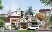 Contemporary Design Ideas with Double Floored Complex Home Plans