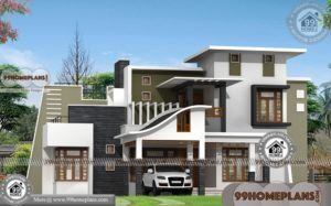 Contemporary Home Models with Double Storied Beautiful House Exteriors