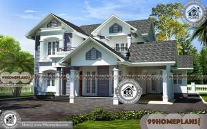 Cost To Build A Small House | Double Story Ultra Modern Home Floor Plan