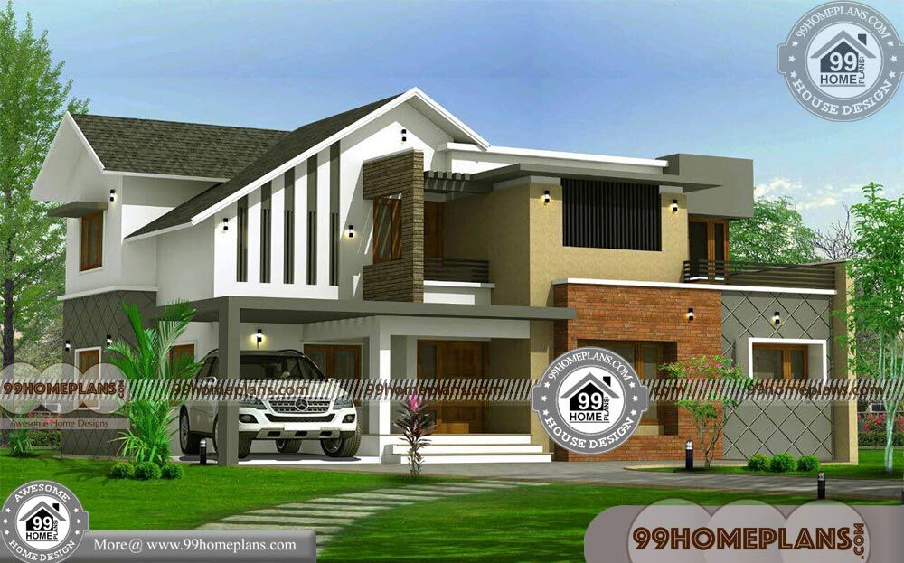 Contemporary Two Story House